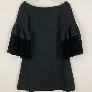 NWT Skies Are Blue Off The Shoulder Black Dress